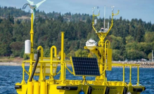 Buoy Collects Data, Improving Offshore Wind Industry
